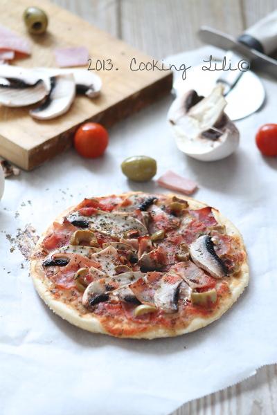 Pizza Jambon et Champignon