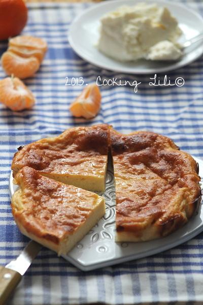 Gâteau à la Brousse à la clémentine 4