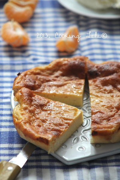 Gâteau à la brousse à la clémentine 3