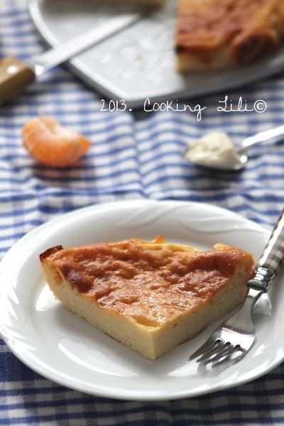 Gâteau à la brousse et à la Clémentine 2