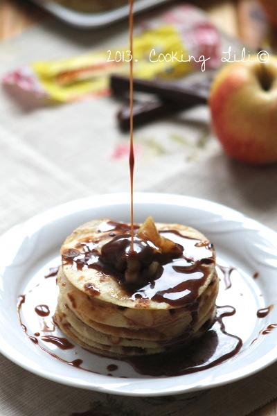 Gâteau de pommes & carambar 3