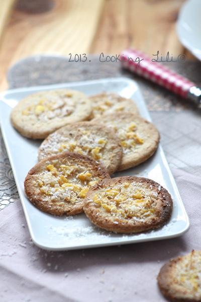 Biscuit Mangue et noix de Coco