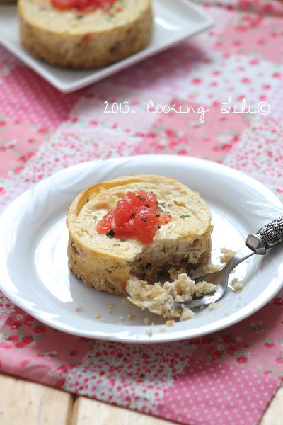 Cheesecake Saumon fumé et Pamplemousse
