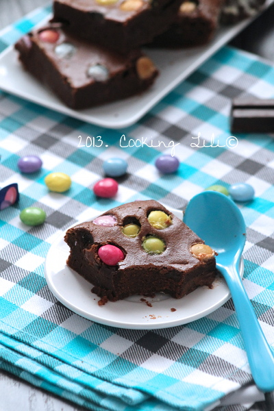 Brownie au Chocolat et Smarties®