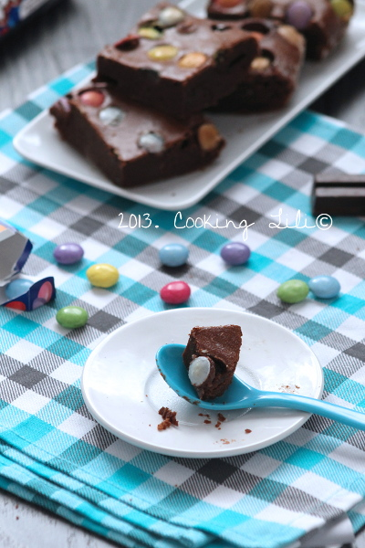 Brownie au Chocolat et Smarties®