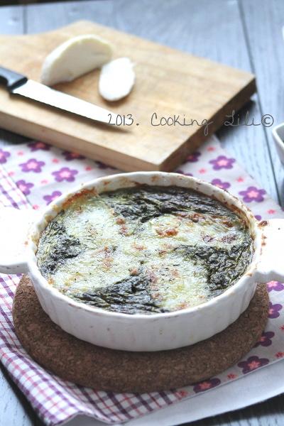 Flan Epinard et Mozzarella
