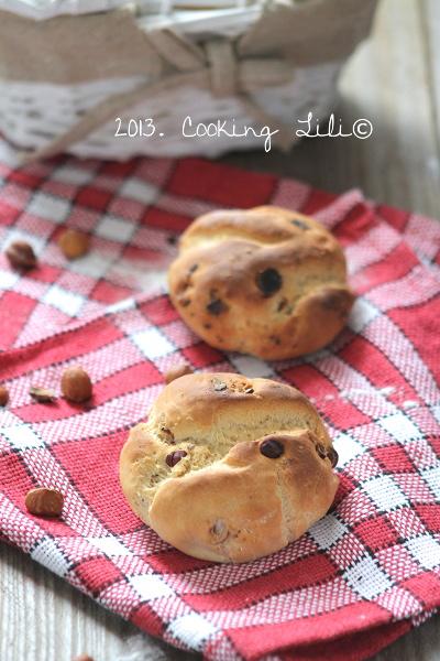 Petits pains aux Noisettes