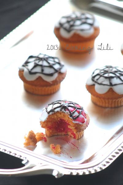 Cupcake Toile d'Araignée