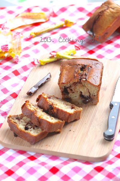 Banana bread aux carambar®
