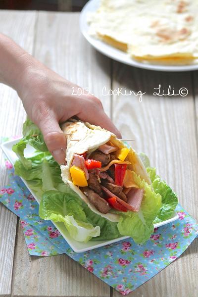Wrap Poulet, Bacon et Cheddar 3