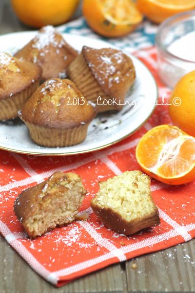 Muffins Clémentine et Noix de coco