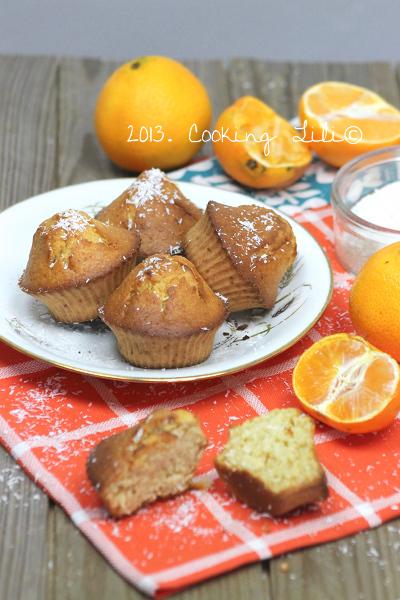 Muffins Clementine et Noix de coco