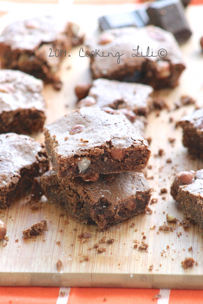 Brownie au Chocolat et aux Noisettes