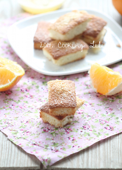 Financiers Orange
