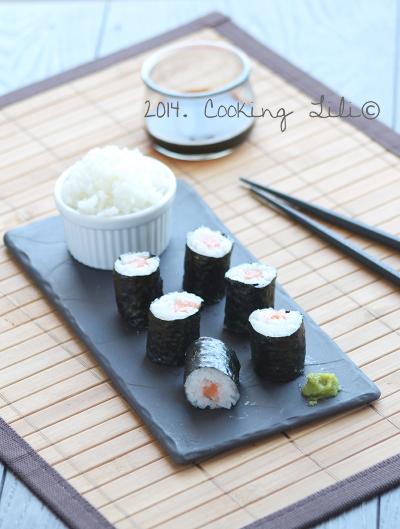 Maki saumon 1