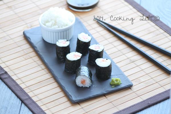 Maki saumon 4