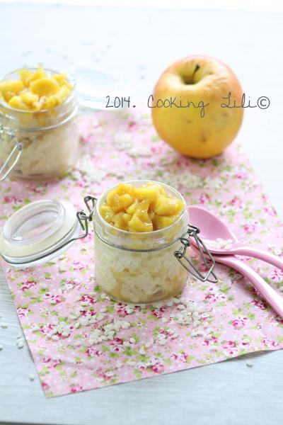 Riz au lait aux pommes caramélisées
