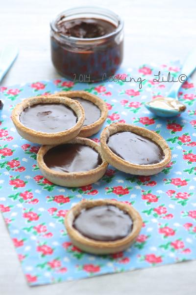Tartelettes chocolat confiture de lait