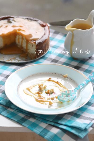 Cheesecake Vanille et caramel au beurre salé
