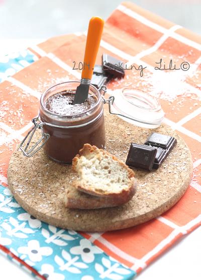 Pâte à tartiner chocolat coco