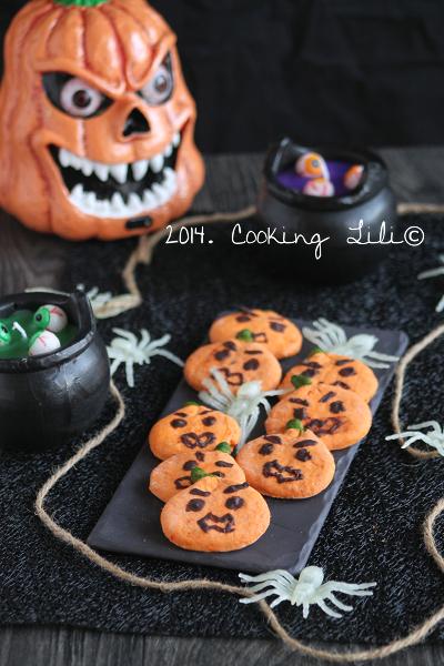 biscuits Citrouilles