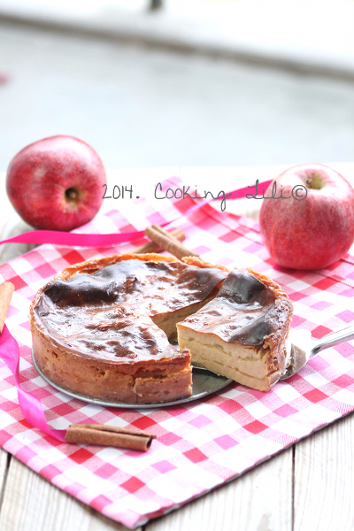 flan pommes cannelle