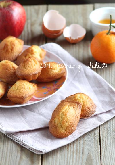 madeleines clementine pommes