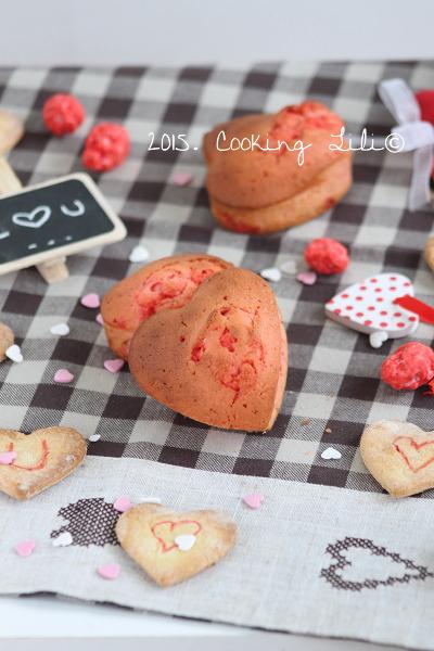 coeur chocolat blanc pralines roses