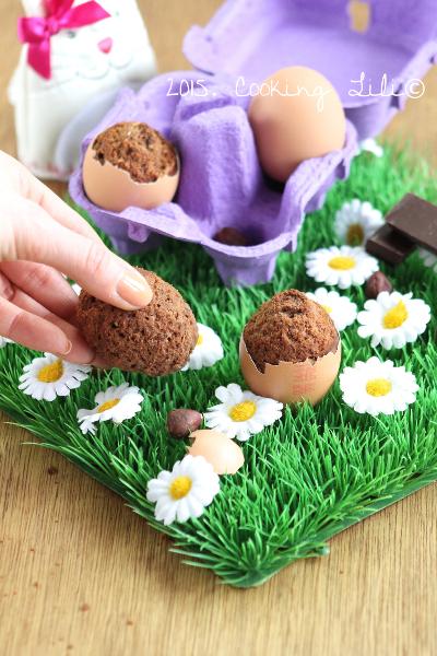 egg cake chocolat noisettes