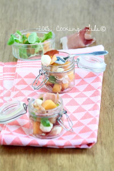 verrines melon jambon cru 2