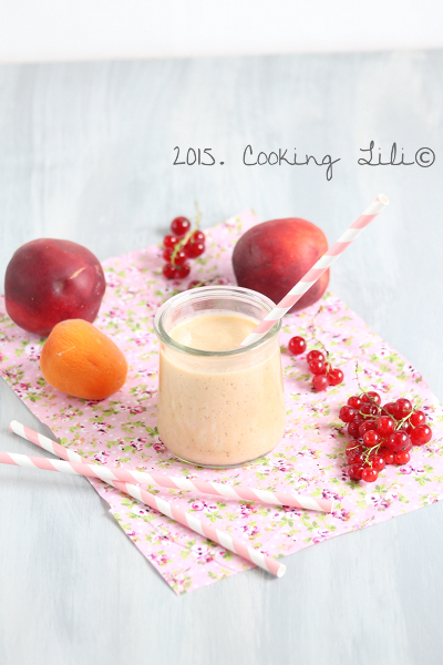 smoothie nectarines groseilles abricots