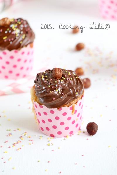cupcakes au nutella et noisettes2