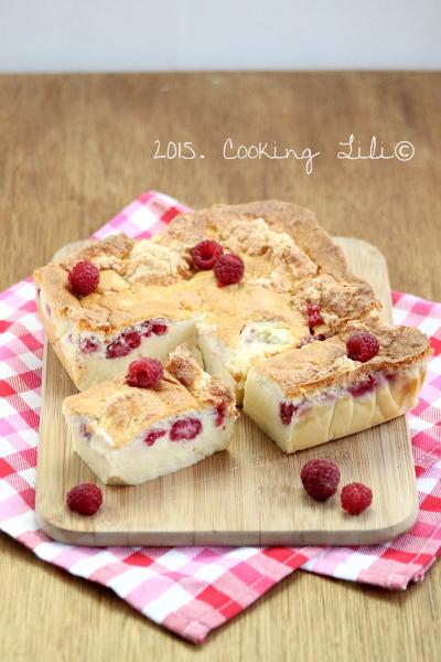 gâteau magique framb amand