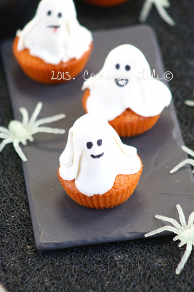 gâteau fantôme cannelle potimarron