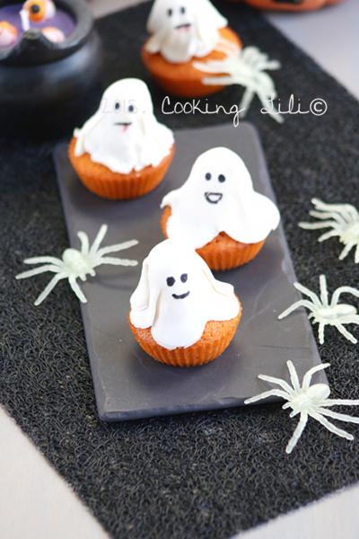 gâteau fantôme potimarron et cannelle