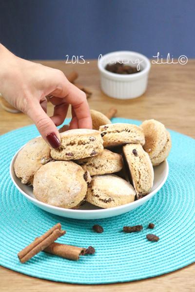 scones raisins cannelle