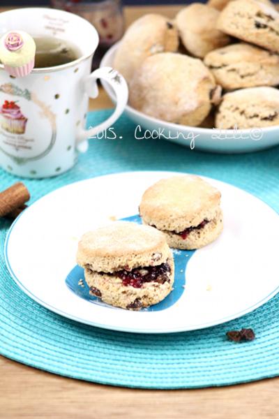 scones raisins secs cannelle
