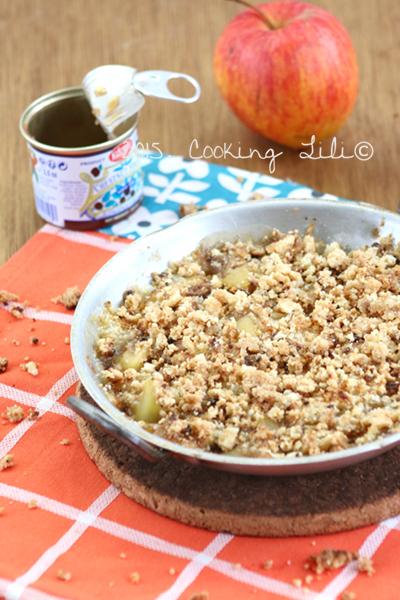 crumble pommes marrons 3