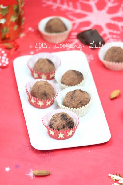 truffes choco amandes