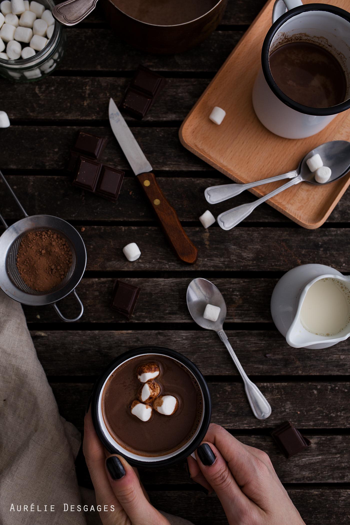 Cooking Lili Chocolat Chaud Au Lait D Amandes Sans Lactose