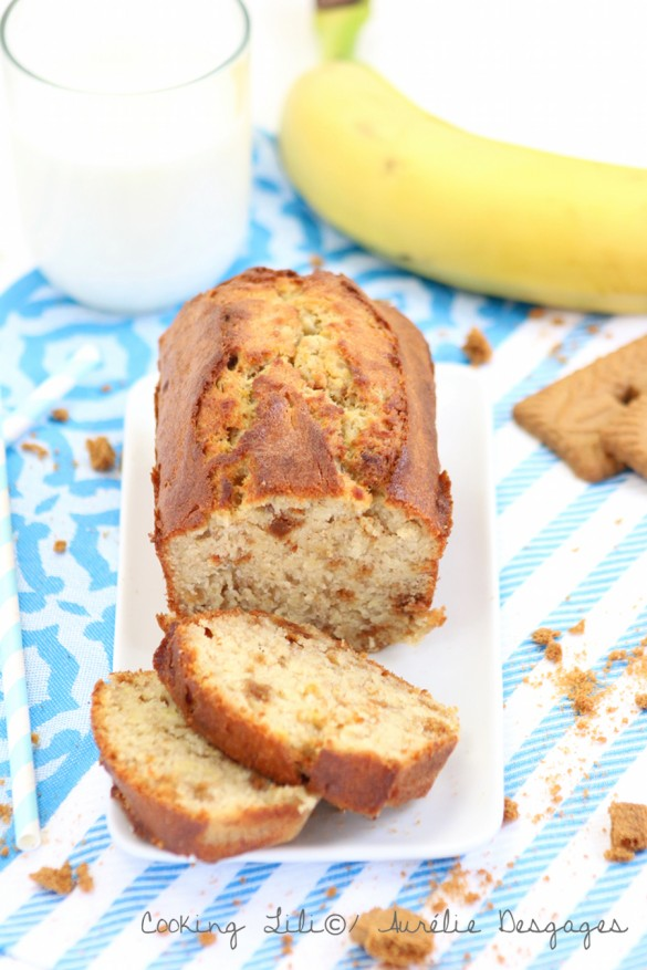 banan bread aux speculoos