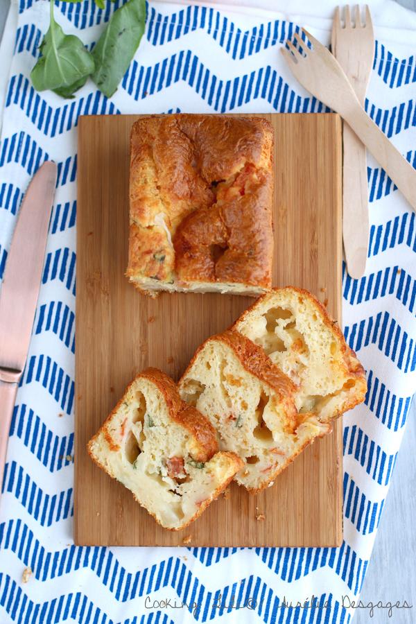 cake tomates mozza basilic tefal