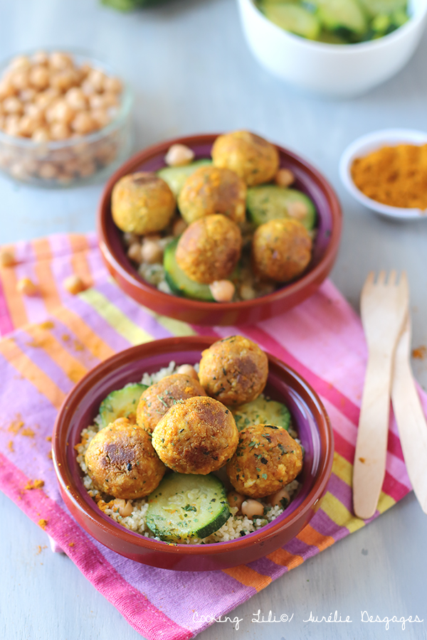 Boulettes de tofu à la marocaine