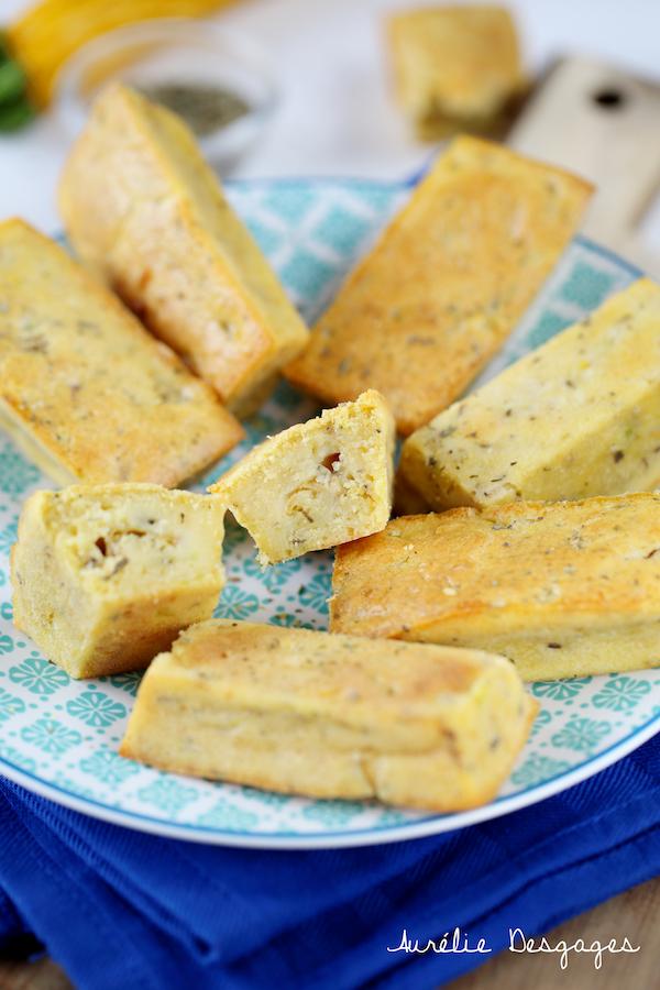 mini cake courgettes jaunes