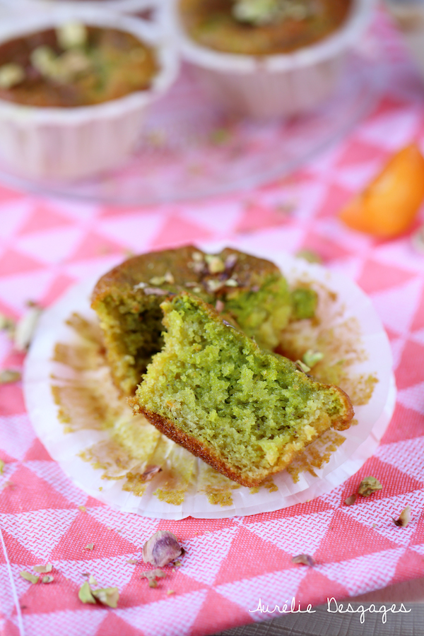 muffins abricot pistache