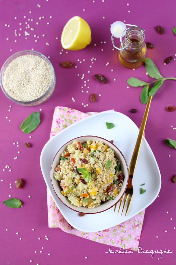 taboulé de quinoaa