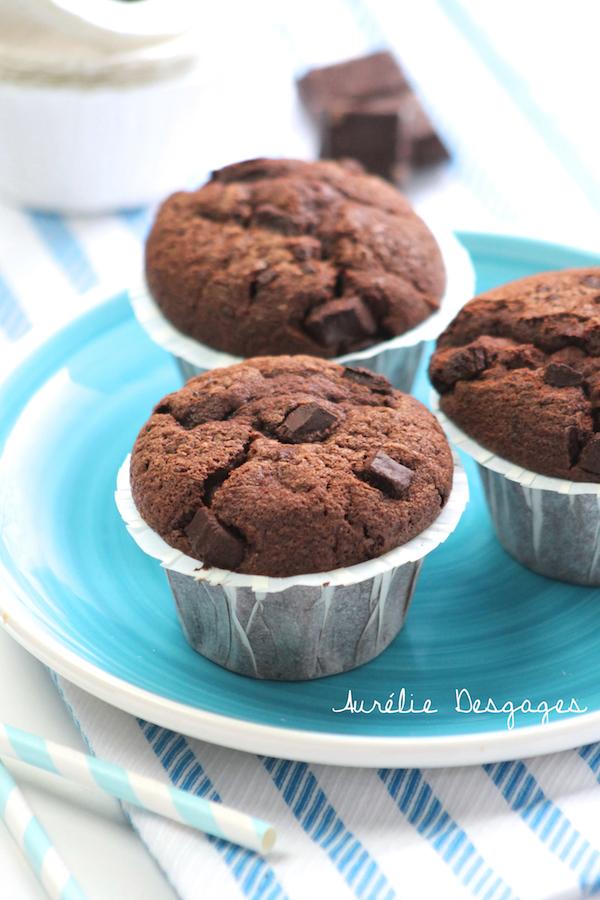 Muffins tout chocolat 4