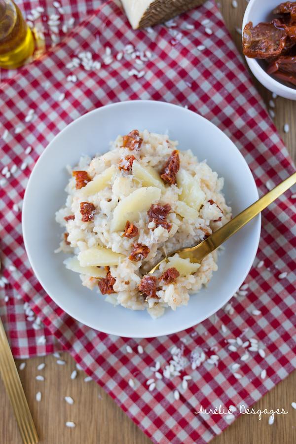 risotto tomates séchées et brebis2