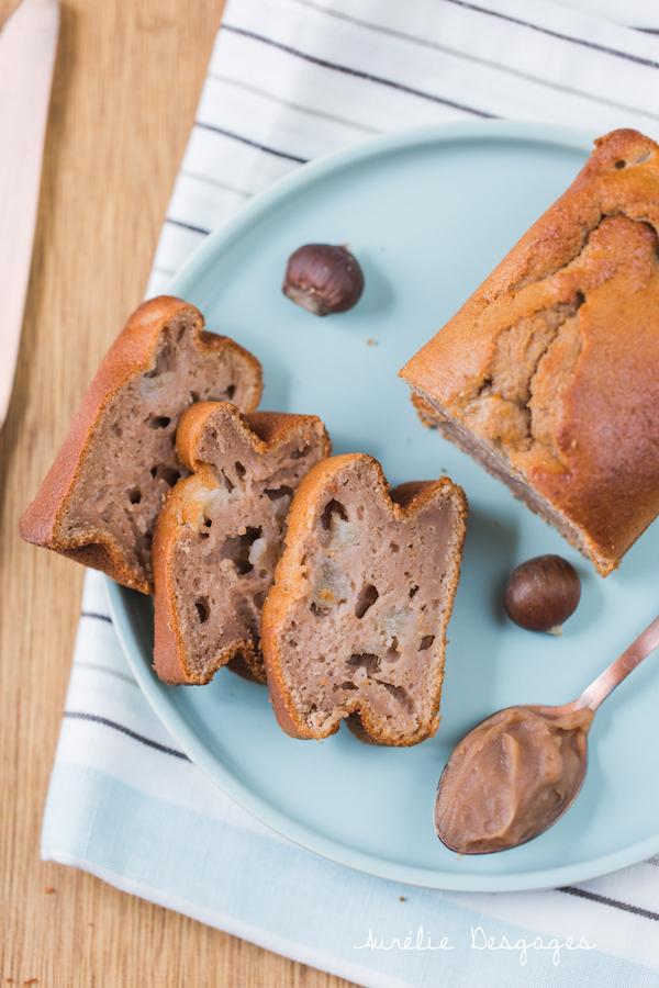 cake poires crème de marrons