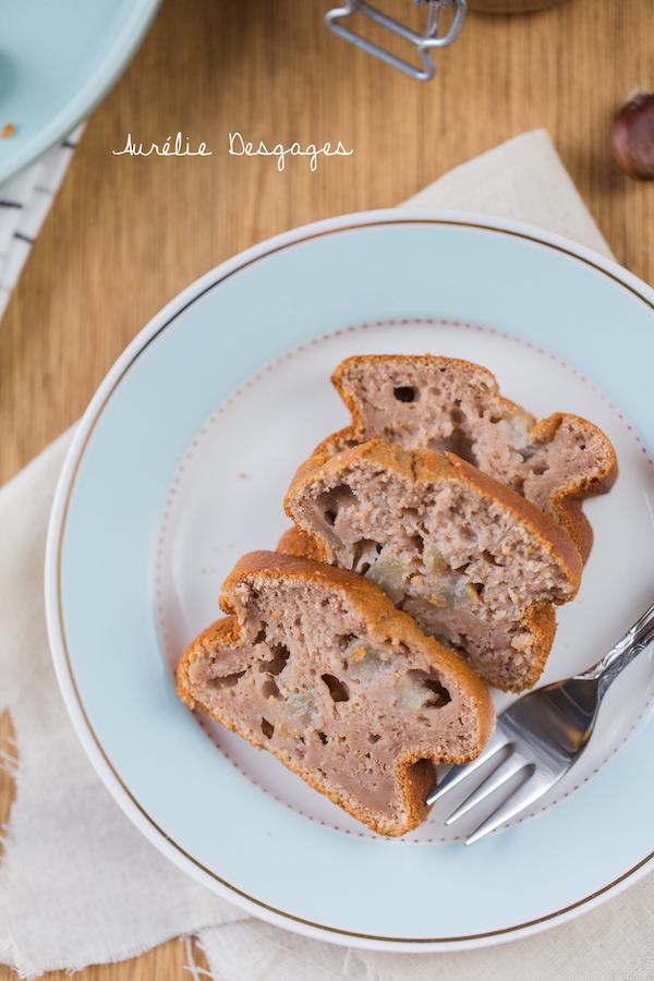 cake poires crème de marrons2